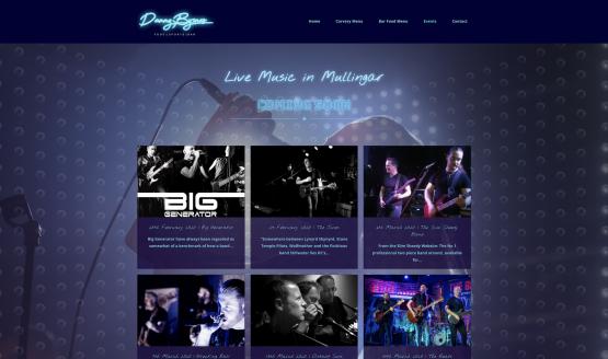 Danny Byrnes Website Design Mullingar