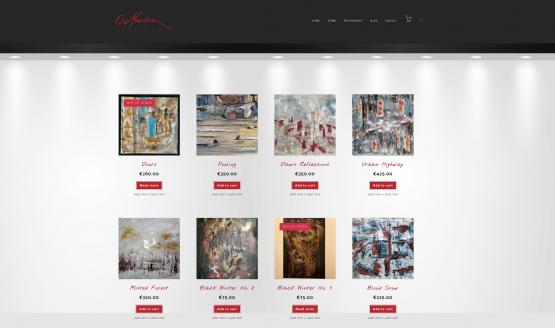 Brian Meehan Website Design