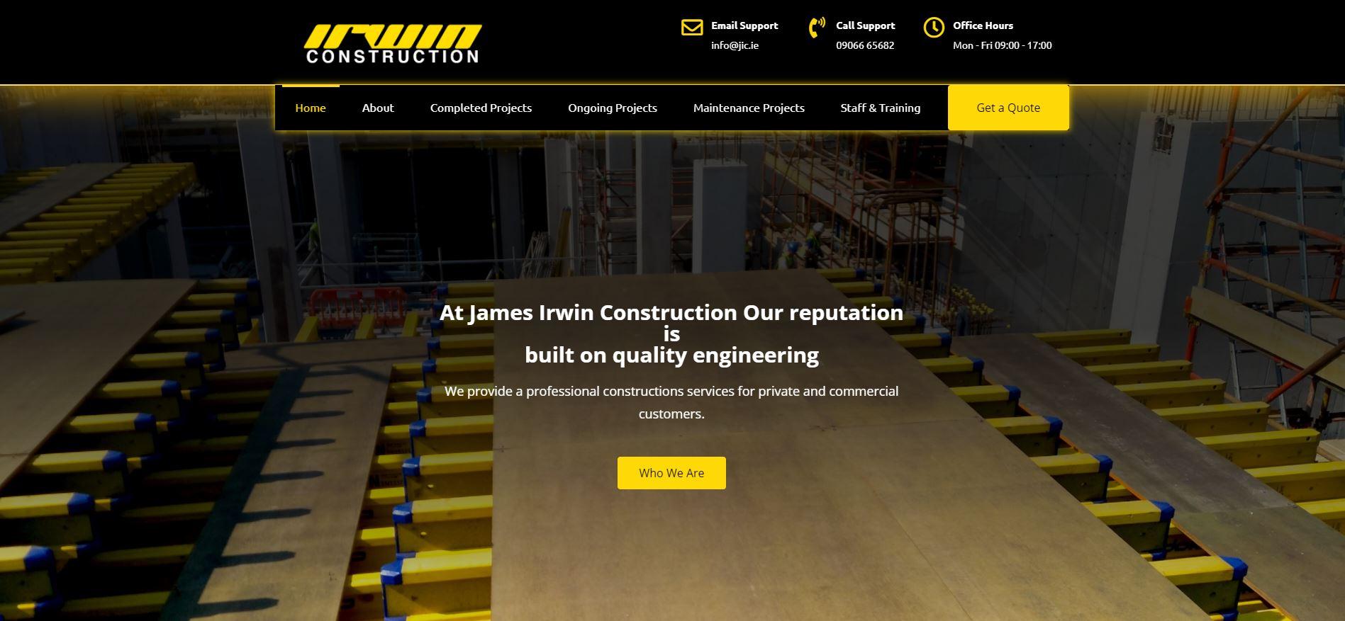 James Irwin Construction